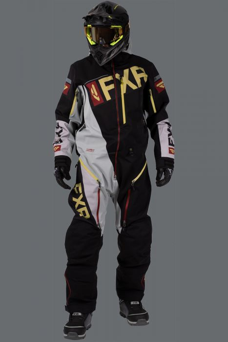 FXR Ranger Instinct Lite Monosuit 20 Black/Grey/Ru