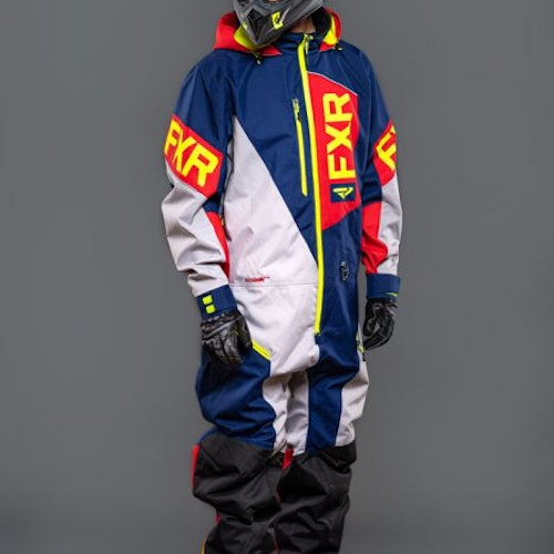 FXR Recruit Lite Monosuit 20 Navy/Lt Grey/Red/Hi V   Ord:Pris 4195:-