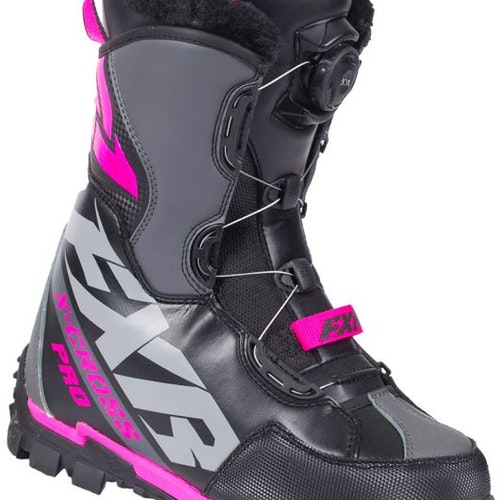 FXR X-Cross Pro BOA Boot, Black/Fuchsia  2495:-   20%