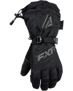 FXR Fusion Fingerhandske, Black/Charcoal