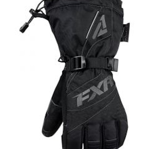 FXR CX Fingerhandske, Black