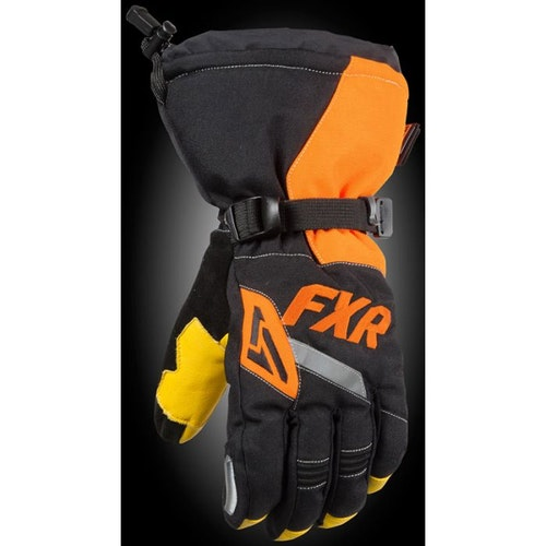 FXR CX Fingerhandske 20 Black/Orange