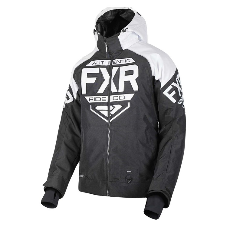 FXR CLUTCH JACKET BLACK/WHITE