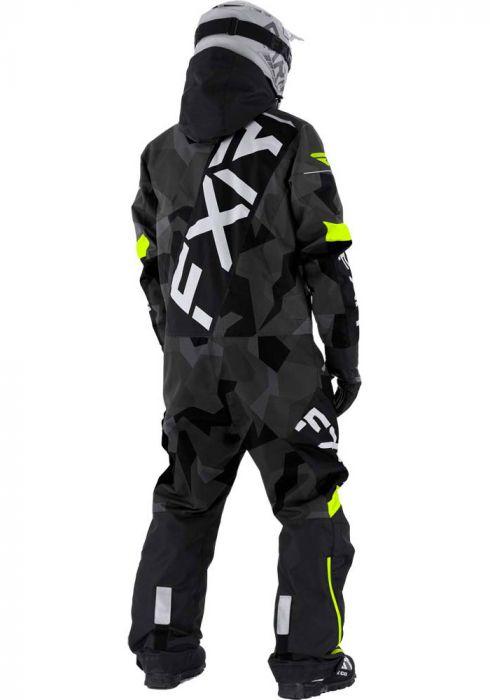 FXR CX Lite Monosuit 21 Char Camo/Blk/Hi Vis/Grey