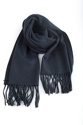 Wool Solid - Navy Blue