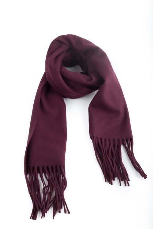 Wool Solid - Bourgogne