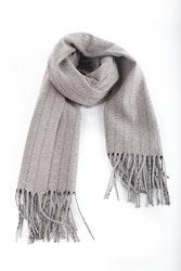Wool Stripe - Beige/Navy Blue