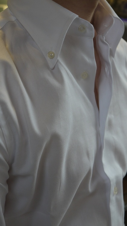 Solid Royale Oxford Shirt - White