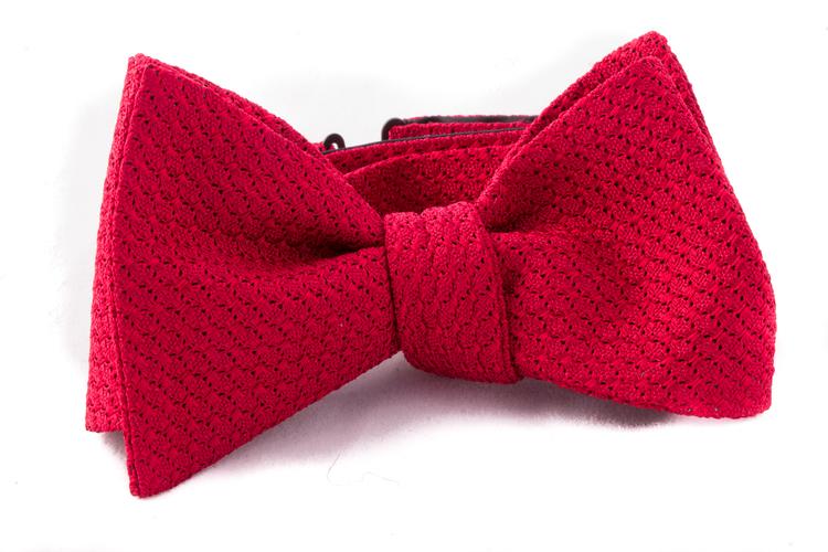 Self tie Garza Grossa - Red