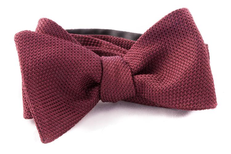 Self tie Garza Fina - Bourgogne