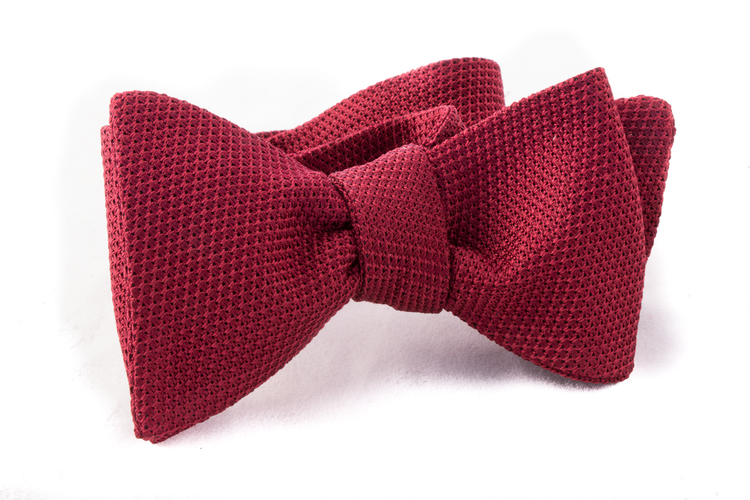 Self tie Garza Fina - Burgundy