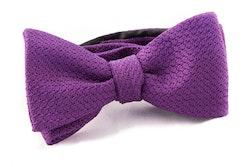 Solid Grenadine Grossa Bow Tie - Lilac