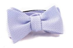 Solid Grenadine Grossa Bow Tie - Light Purple
