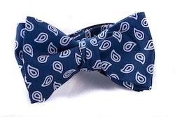 Self tie Silk - Navy Blue