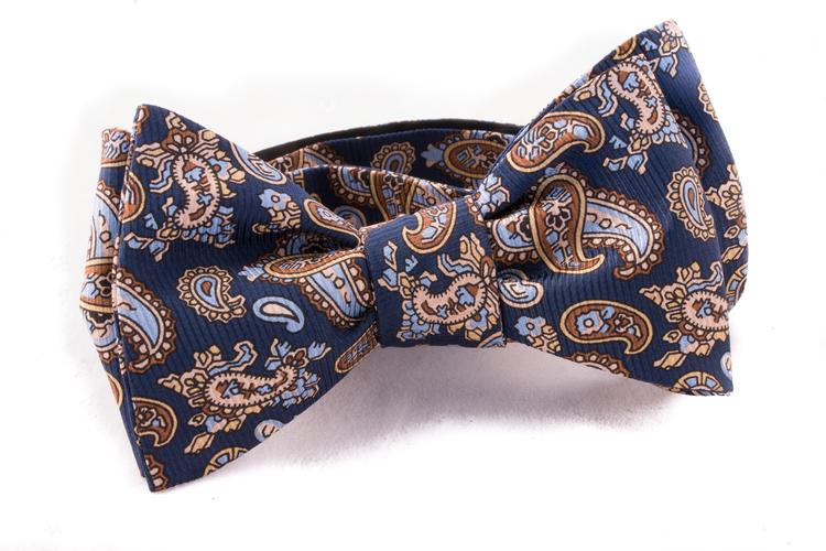 Self tie Silk Vintage - Beige