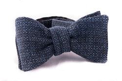 Self tie Cotton - Navy Blue