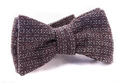 Self tie Cotton - Dark Brown