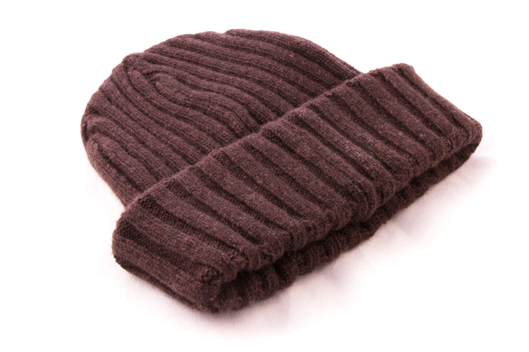 Cap Wool - Brown