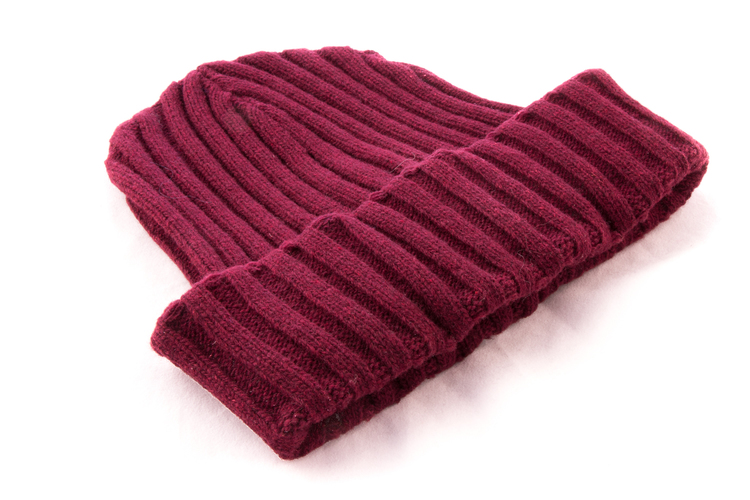Cap Wool - Burgundy