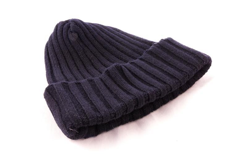 Cap Wool - Navy Blue
