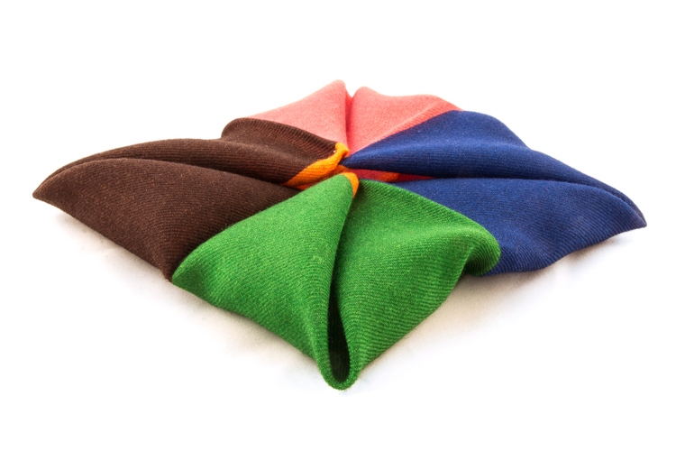 Wool Multi - Blue/Green/Brown/Pink