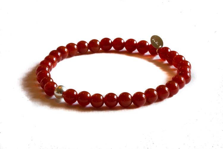 Bracelet - Rust/Silver