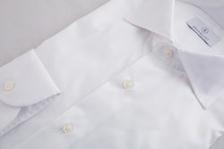 Solid Fine Twill Shirt - White