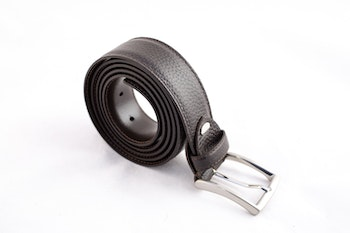 Calf Leather Belt - Brown