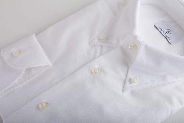 Pinpoint Oxford Shirt - White