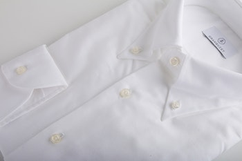 Pinpoint Oxford Shirt - Button Down - White