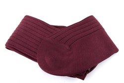 Cotton Socks - Burgundy