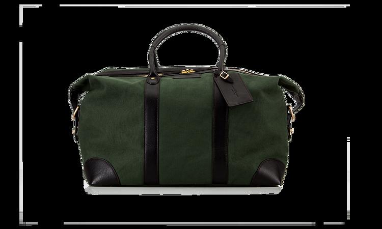 Weekend Bag - Green Canvas