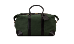 Weekend Bag - Green Canvas