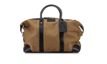 Weekend Bag - Khaki Canvas