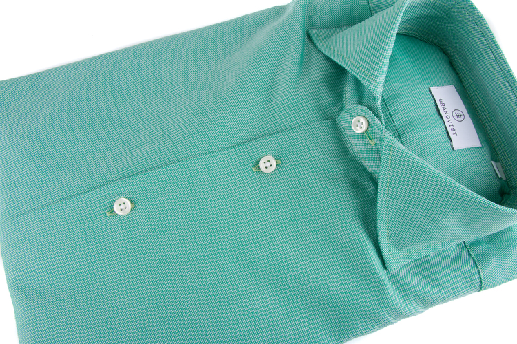 Washed Oxford - Green