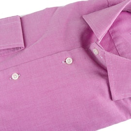 Washed Oxford - Cerise