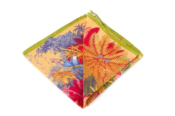 Silk Tucano - Yellow/Orange/Green/Blue