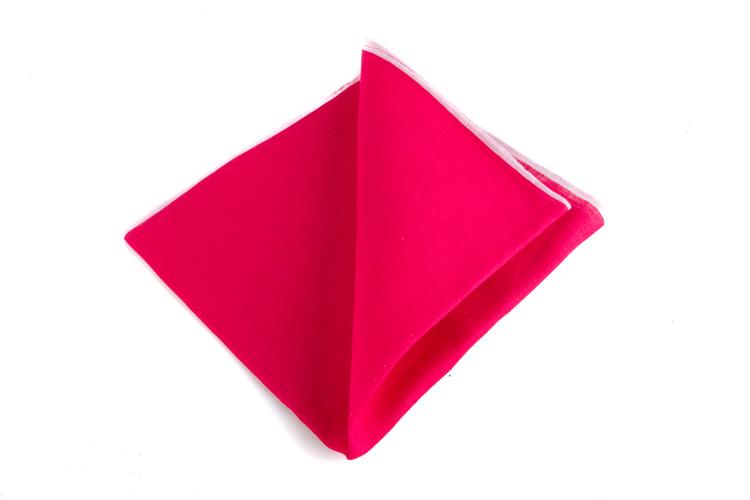 Linen Candy Stripe - Cerise/Pink