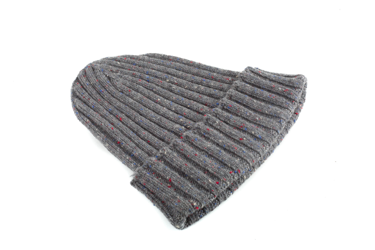 Cap Wool Donegal - Grey