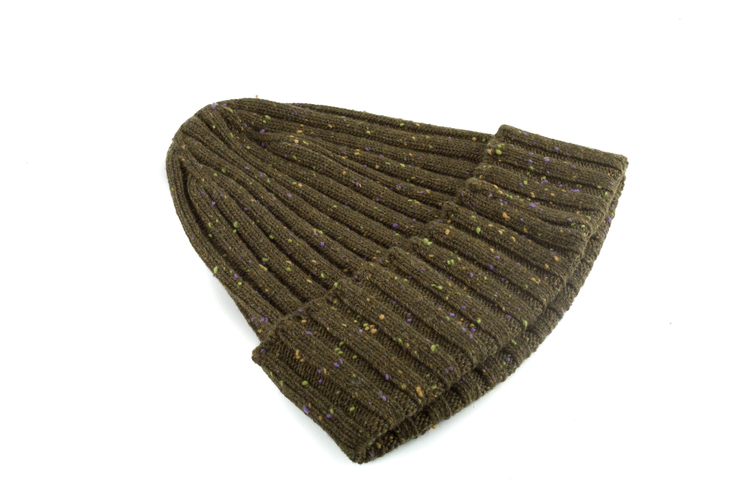 Cap Wool Donegal - Olive Green