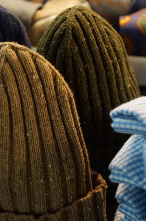 Cap Wool Donegal - Beige