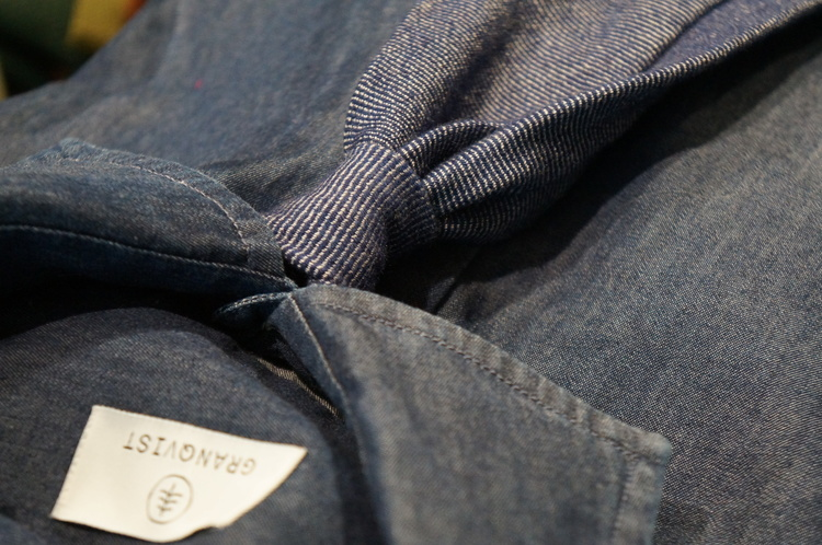 Untipped Solid Cashmere - Navy Blue