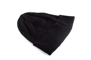 Cap Wool Thin - Dark Grey