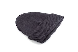 Cap Wool Rib - Dark Grey
