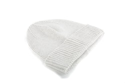 Cap Wool Rib - Light Grey