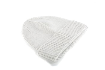 Cap Wool Rib - Light Grey