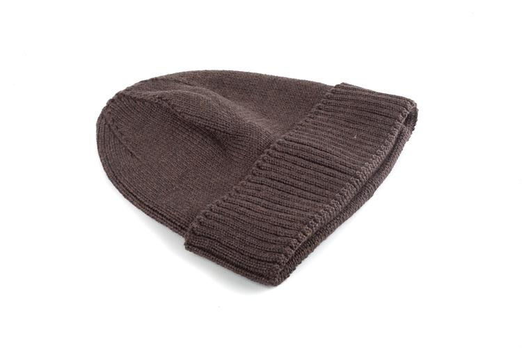 Cap Wool Rib - Dark Brown