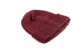 Cap Wool Rib - Rust