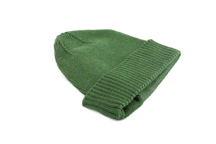 Cap Wool Rib - Green