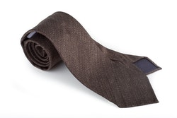 Silk Solid Untipped - Brown